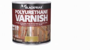 Blackfriar Polyurethane Matt Varnish 125ml
