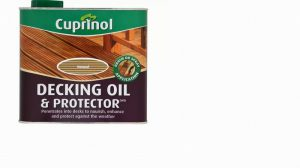 Cuprinol UV Guard Decking Oil & Protector Natural 2.5L