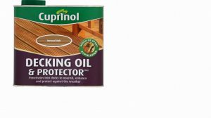 Cuprinol UV Guard Decking Oil & Protector Natural Oak 2.5L