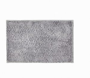Hug Rug Dip and Drip Bathmat- Silver