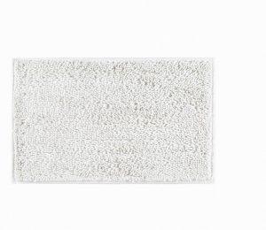 Hug Rug Dip and Drip Bathmat- White