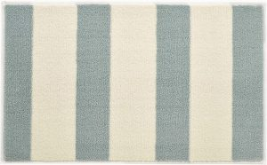 Hug Rug Dip and Drip Bathmat- Beach Hut Stripe