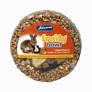 Johnsons Rabbit & Guinea Pig Fruity Bowl- 180g