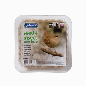 Johnsons Seed & Insect Suet Feast