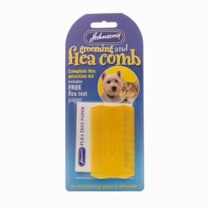 Johnsons Flea & Grooming Comb with FREE test paper