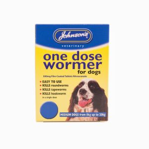 Johnsons One Dose Wormer – Size 2