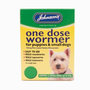 Johnsons One Dose Easy Wormer – Size 1