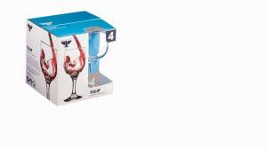 Ravenhead Tulip Set Of 4 Red Wine Glasses 24cl