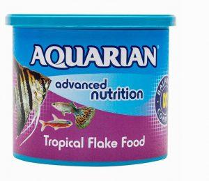 Aquarian Tropical Fish Flakes 200g Large