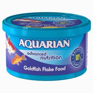 Aquarian Goldfish Flakes 25g Standard