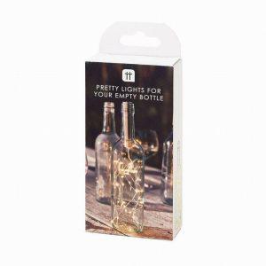 Talking Tables Luxe Gold Bottle Light