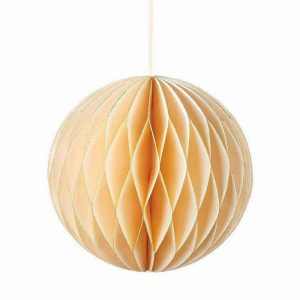 Talking Tables Decadent Decs Cream Glitter Honeycomb