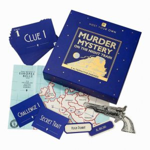 Talking Tables Host Your Own Murder Mystery on the Train