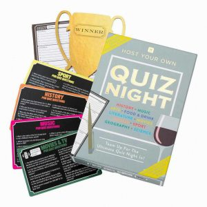 Talking Tables Host Your Own Quiz Night