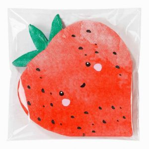 Talking Tables Strawberry Shaped Cocktail Napkins
