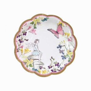 Talking Tables Truly Fairy Scallop Edge Plates