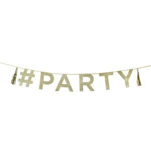 Talking Tables Glitter Party Garland
