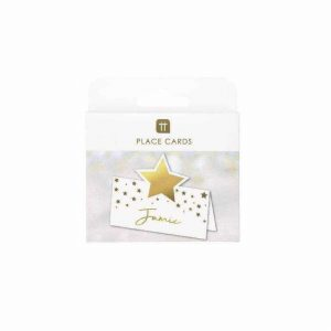 Talking Tables Star Gold Placecards