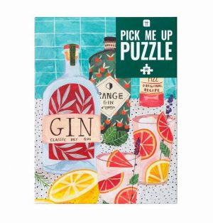 Talking Tables Pick Me Up Jigsaw Puzzle Gin 500 pieces