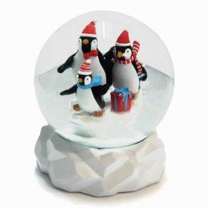 Talking Tables Penguin Parade Snowglobe