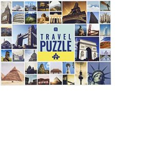 Talking Tables Travel Puzzle 1000pc