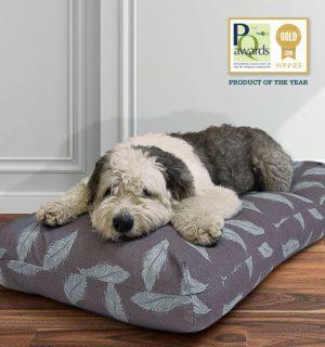 Danish Designs Dog Duvet- Grey Feather (Large)