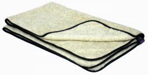 P&L Double Thickness Sherpa Fleece Blanket- Oatmeal L