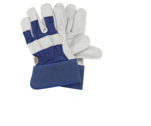 Briers Premium Rigger Gloves Blue Large