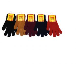 Ladies Thermal Knitted Gloves- Assorted Colours