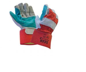 Scan Heavy-Duty Rigger Gloves – Large
