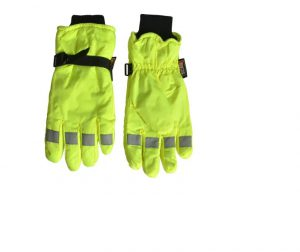 Scan Hi-Visibility Gloves Yellow – XL