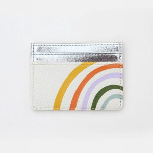 Caroline Gardner Rainbow Travel Card Holder