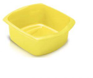 Addis Rectangular Washing Up Bowl Yellow Large
