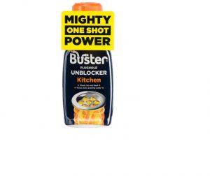 Buster Kitchen Plug Hole Unblocker One Shot 200g