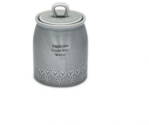 Cooksmart Cannister Happiness Purity