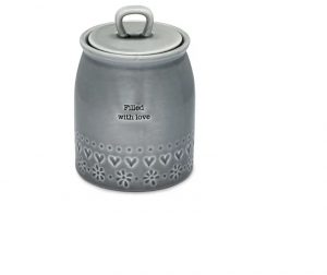 Cooksmart Cannister Filled With Love Purity