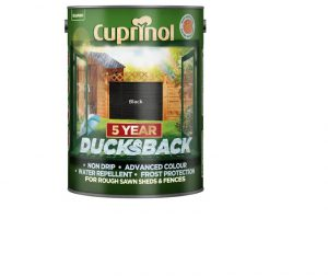 Cuprinol 5 Year Ducksback Black 5L