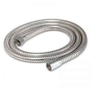 Showerdrape Double Spiral 1.5 m Chrome Shower Hose