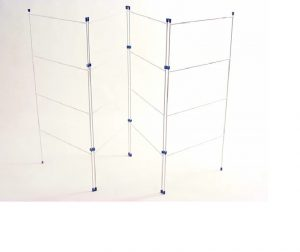 HomeHardware Clothes Horse 4 Fold 20in