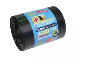 HomeHardware Green Extra Strong Tie Refuse x 50