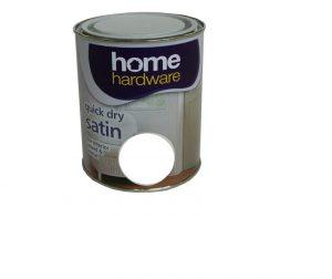 HomeHardware Quick Dry Satin White 750ml