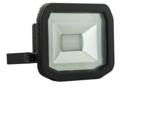 Luceco Eco Slim Floodlight Black 10W