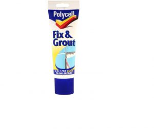 Polycell Tile Fix N Grout Tube 330g