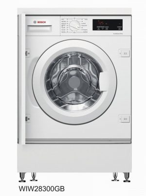 Bosch WIW28301GB Integrated 8kg 1400 Spin Washing Machine -White