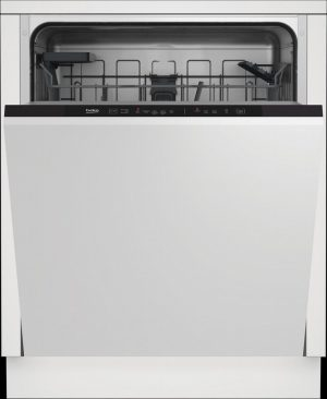 Beko DIN15C20 Integrated Dishwasher – Stainless Steel