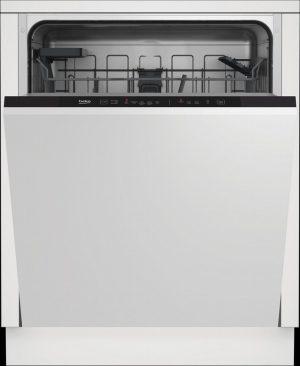 Beko DIN15C20 Integrated Dishwasher – Stainless Steel