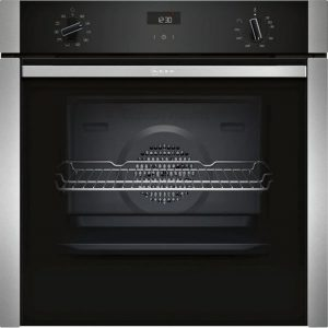 Neff B3ACE4HN0B Built-in Electric Single Oven- Stainless Steel