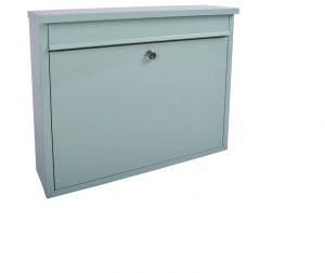 Sterling Elegance Rectangle Postbox Charter Green Large