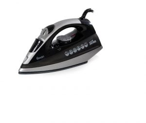 Swan Power Press Iron Ceramic Black