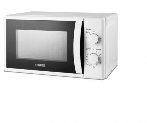 Tower Manual Microwave 700W 20L White